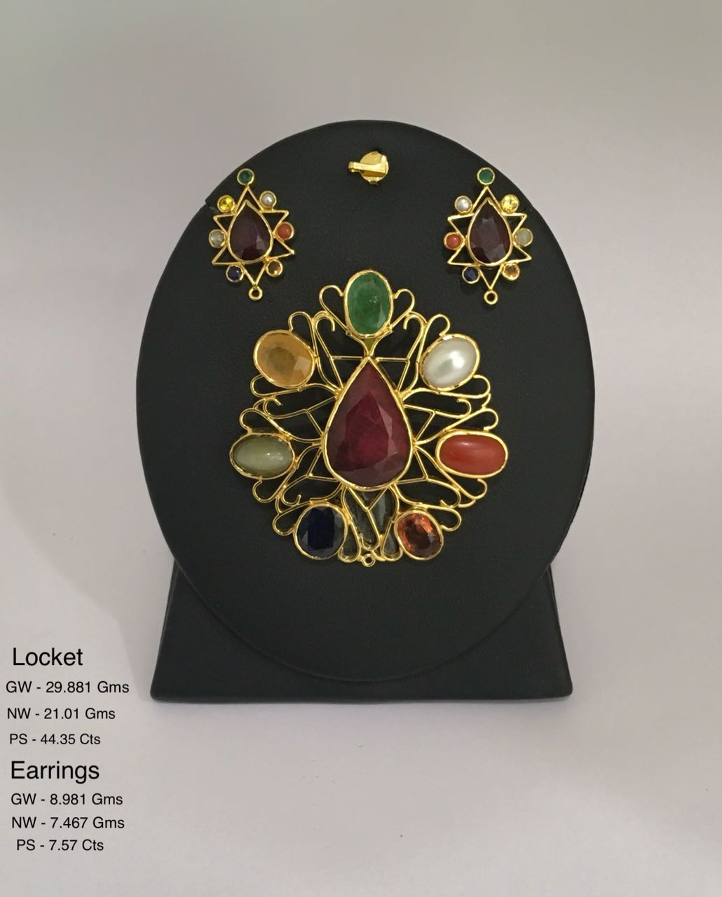 NAVRATAN LOCKET AND TOPS